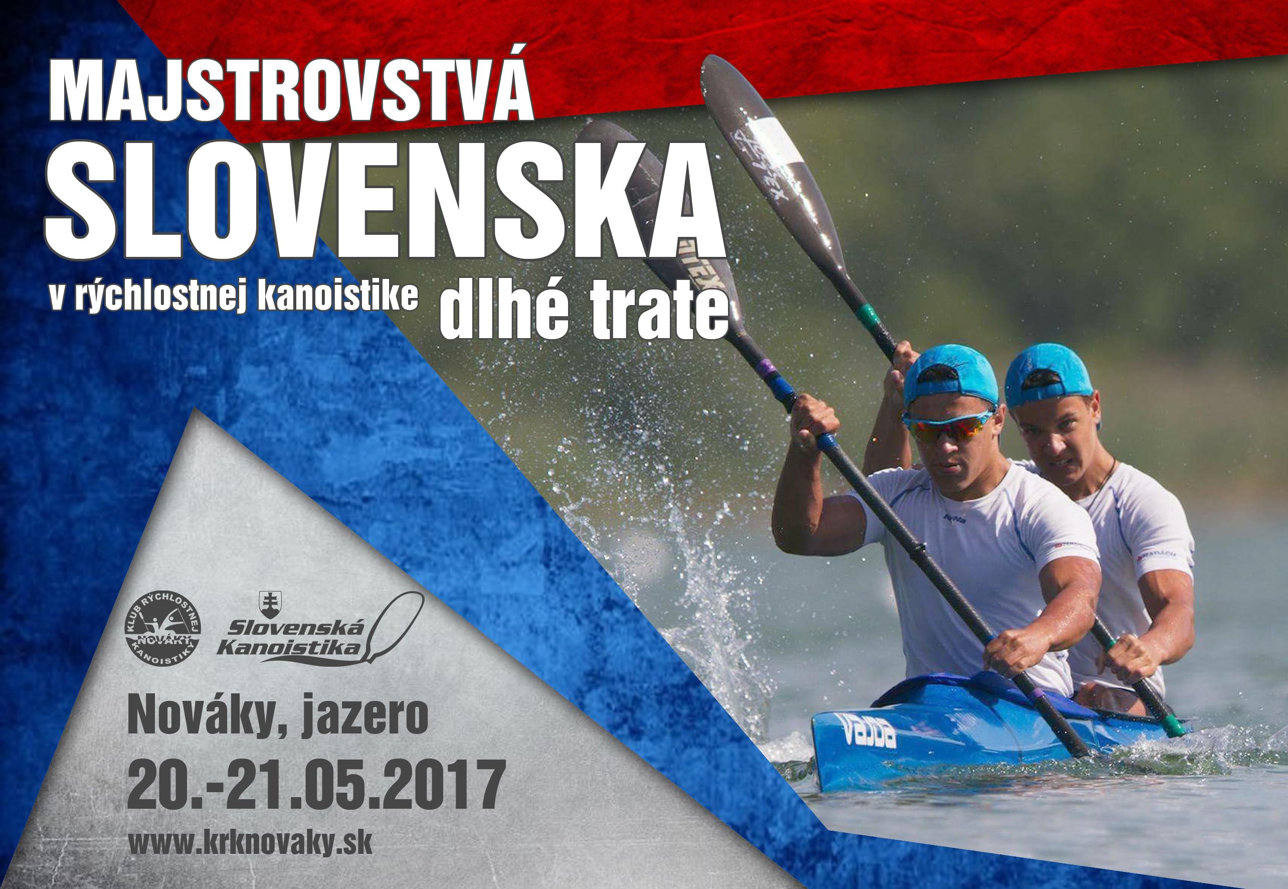 Majstrovstvá Slovenska - dlhé trate 2017 - plagát