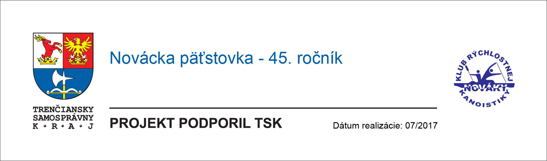 Novácka päťstovka - 45. ročník - projekt podporil Trenčiansky samosprávny kraj
