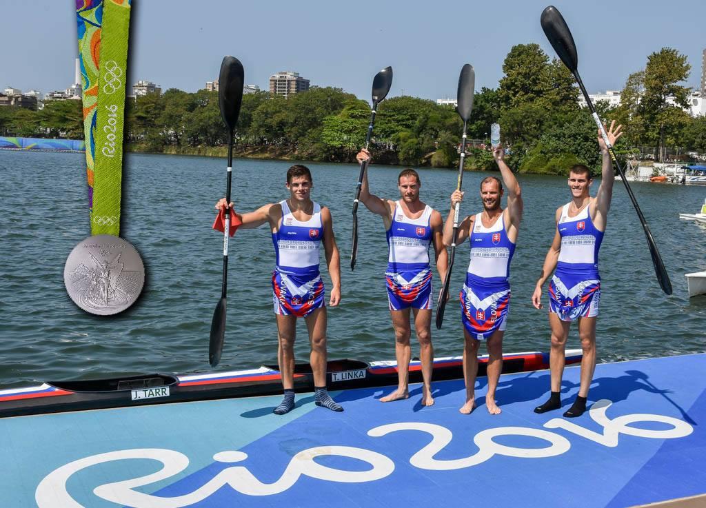 Denis Myšák, Erik Vlček, Juraj Tarr, Tibor Linka (Foto: Slovenský olympijský tím)