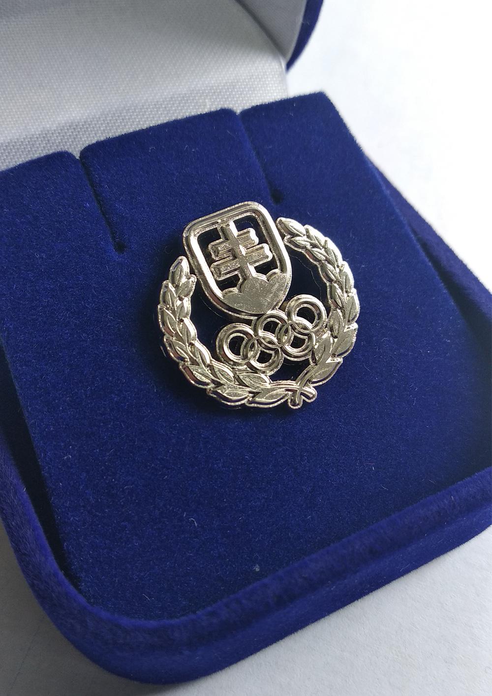 Strieborný odznak SOŠV