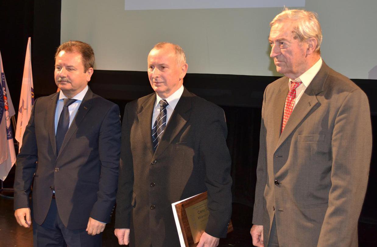 Milan Oršula, prezident KRK Nováky, držiteľ ceny FAIR PLAY