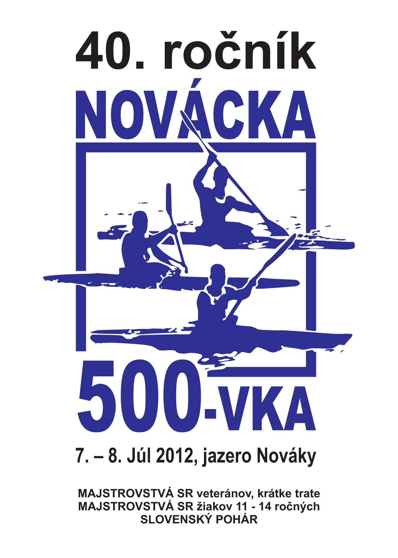 Bulletin pri príležitosti 40. ročník Nováckej päťstovky, strana 1