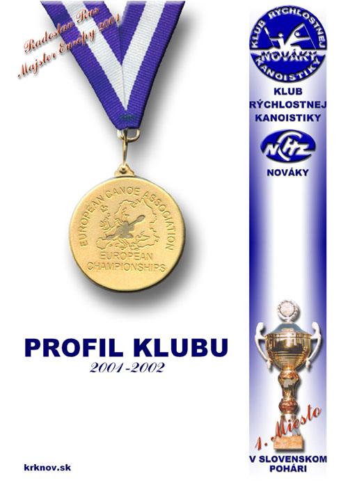 Profil klubu 2001/2002, strana 1