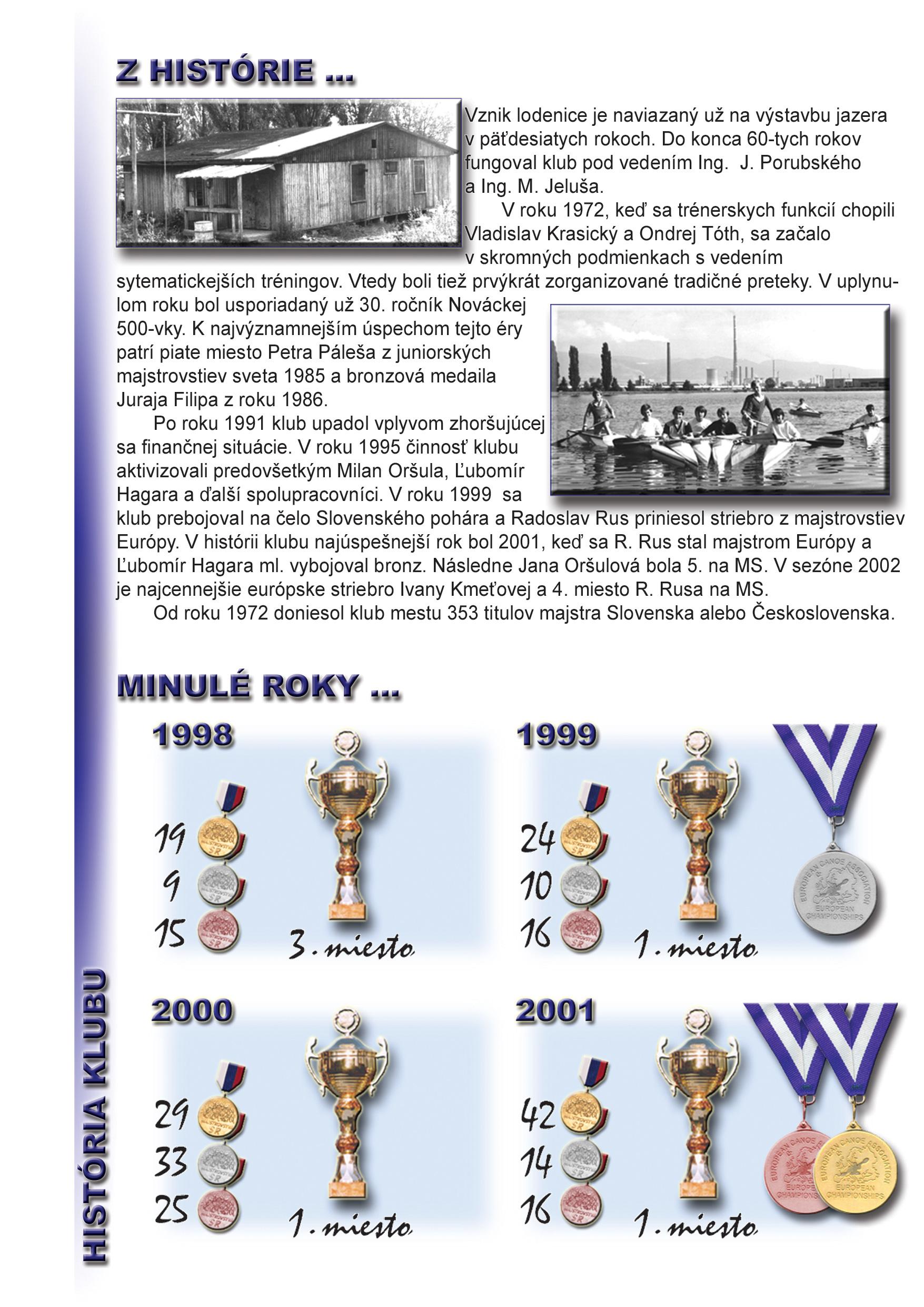Profil klubu 2002/2003, strana 2