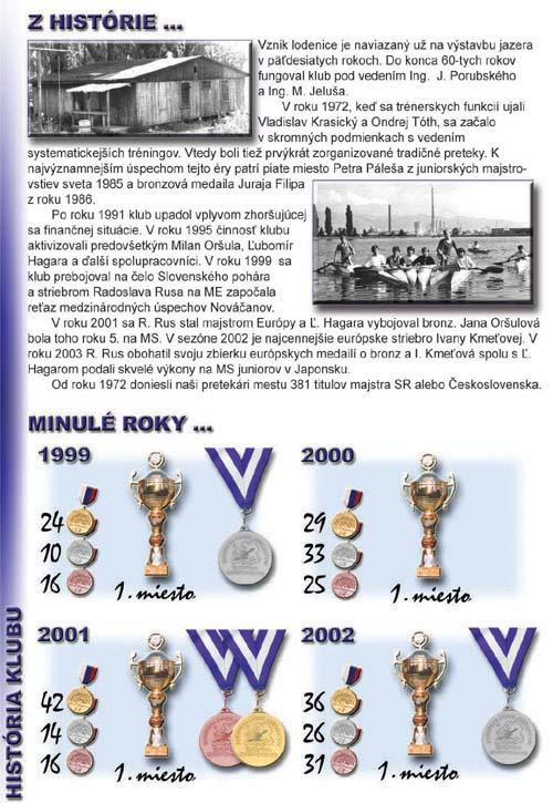 Profil klubu 2003/2004, strana 2