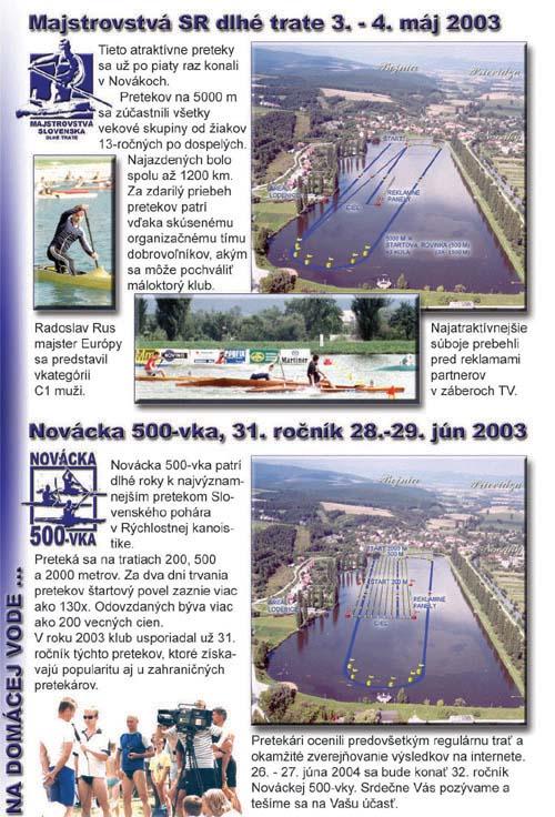 Profil klubu 2003/2004, strana 3