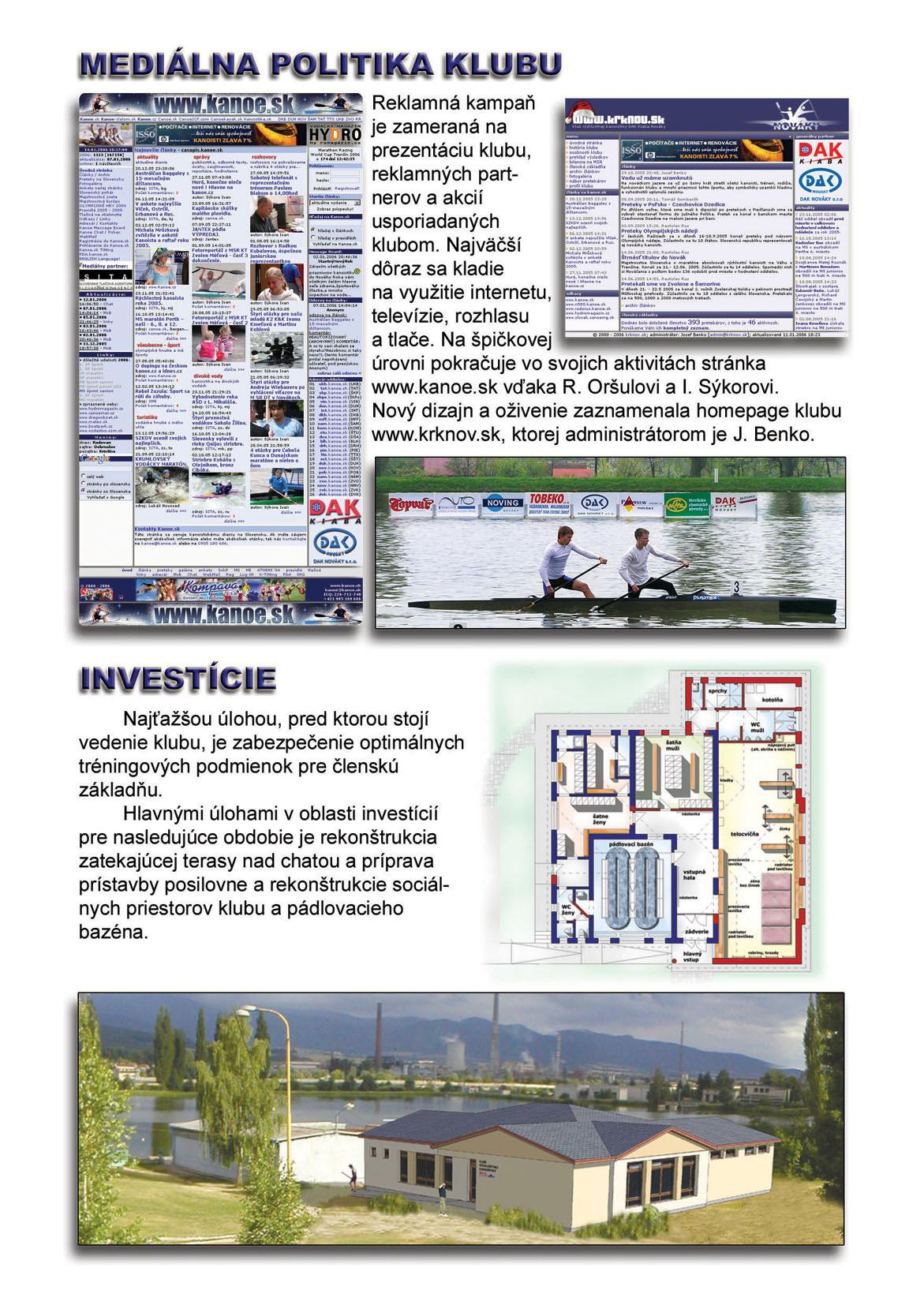 Profil klubu 2005/2006, strana 3